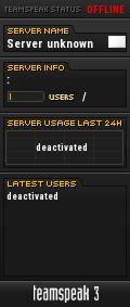 Khaos`server TeamSpeak Viewer