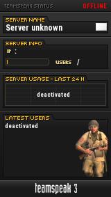 TeamSpeak ]I[ Server+ TeamSpeak Viewer