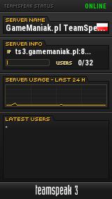 GameManiak.pl TeamSpeak 3 TeamSpeak Viewer