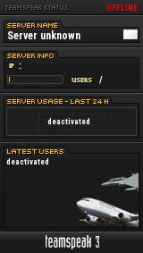 Atcradar TeamSpeak Viewer