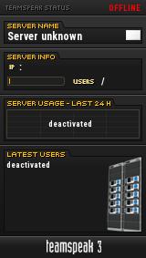 Sepnet.ch TeamSpeak Viewer