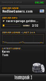 RacersGarage.com TeamSpeak Viewer