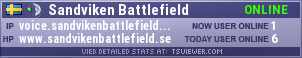 Sandviken Battlefield TeamSpeak Viewer