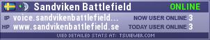 Sandviken Battlefield TeamSpeak Viewer