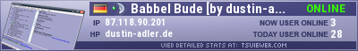 Babbel Bude [www.dustin-adler.de] TeamSpeak Viewer