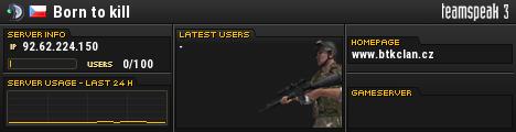 Born to kill TeamSpeak Viewer