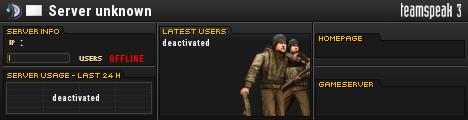 333th Clan TeamSpeak Viewer