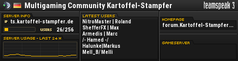 Kartoffel-Stampfer TeamSpeak Viewer