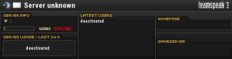 TecB macchky TS3 Server TeamSpeak Viewer