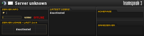 Unlimited-Play.eu �� PUBLIC TS3 TeamSpeak Viewer