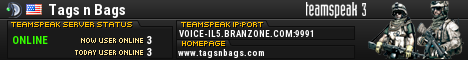 Tags n Bags TeamSpeak Viewer