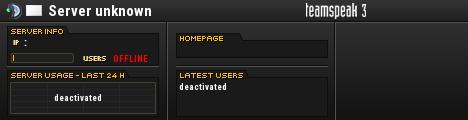Verteidiger der Ehre TeamSpeak Server