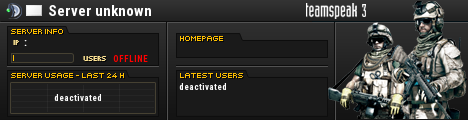 UNITED CLANS= IFF/SEC/AA TeamSpeak Viewer