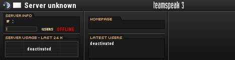 GamingTown TeamSpeak Viewer