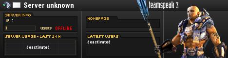 TeamSpeak Server Info
